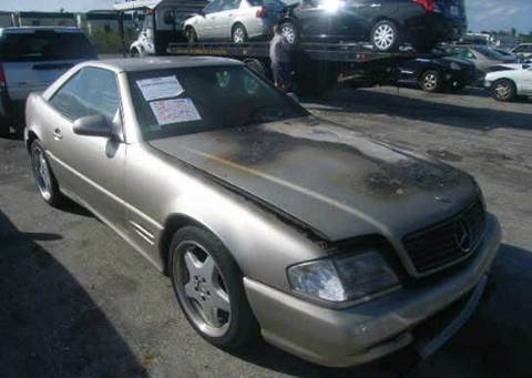 1999 Mercedes-Benz SL-Class for sale at AUTO & GENERAL INC in Fort Lauderdale FL