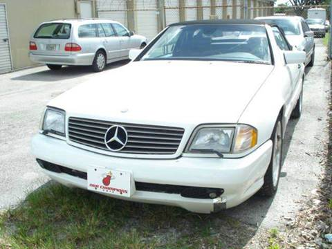 1997 Mercedes-Benz SL-Class for sale at AUTO & GENERAL INC in Fort Lauderdale FL