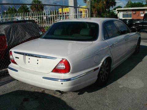 2004 Jaguar XJ for sale at AUTO & GENERAL INC in Fort Lauderdale FL