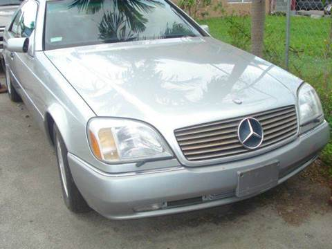 1996 Mercedes-Benz S-Class for sale at AUTO & GENERAL INC in Fort Lauderdale FL