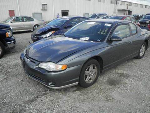 2005 Chevrolet Monte Carlo for sale at AUTO & GENERAL INC in Fort Lauderdale FL