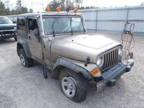 2004 Jeep Wrangler for sale at AUTO & GENERAL INC in Fort Lauderdale FL