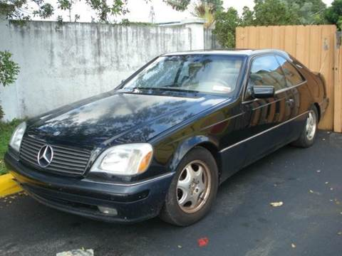 1997 Mercedes-Benz S-Class for sale at AUTO & GENERAL INC in Fort Lauderdale FL