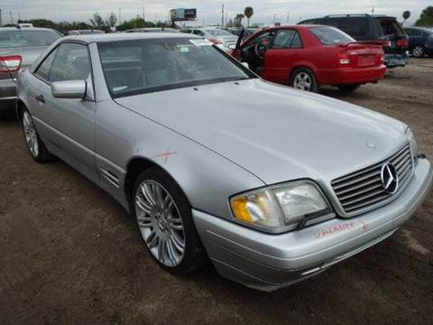 1998 Mercedes-Benz SL-Class for sale at AUTO & GENERAL INC in Fort Lauderdale FL