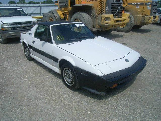 1987 FIAT BERTONE - Fort Lauderdale, FL
