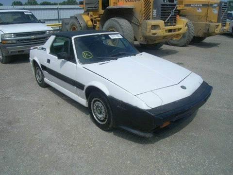 1987 FIAT BERTONE for sale at AUTO & GENERAL INC in Fort Lauderdale FL