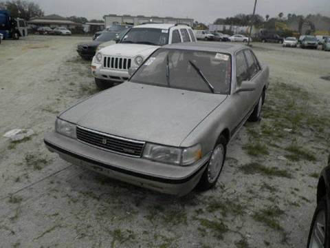 1989 Toyota Cressida for sale at AUTO & GENERAL INC in Fort Lauderdale FL