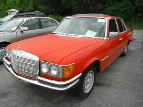 1978 Mercedes-Benz 280-Class for sale at AUTO & GENERAL INC in Fort Lauderdale FL