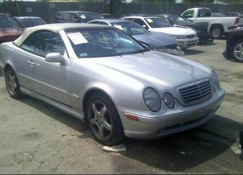 2002 Mercedes-Benz CLK-Class for sale at AUTO & GENERAL INC in Fort Lauderdale FL