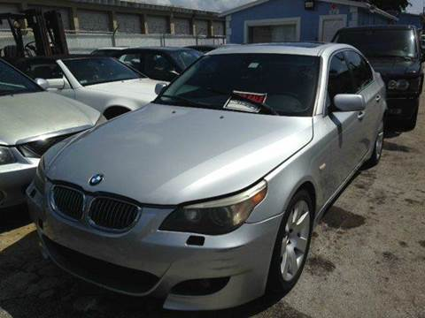 2004 BMW 5 Series for sale at AUTO & GENERAL INC in Fort Lauderdale FL