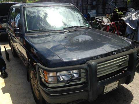 2002 Land Rover Range Rover for sale at AUTO & GENERAL INC in Fort Lauderdale FL