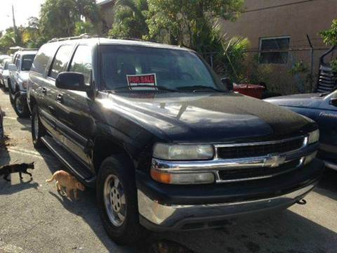2002 Chevrolet Suburban for sale at AUTO & GENERAL INC in Fort Lauderdale FL
