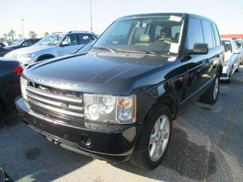 2003 Land Rover Range Rover for sale at AUTO & GENERAL INC in Fort Lauderdale FL