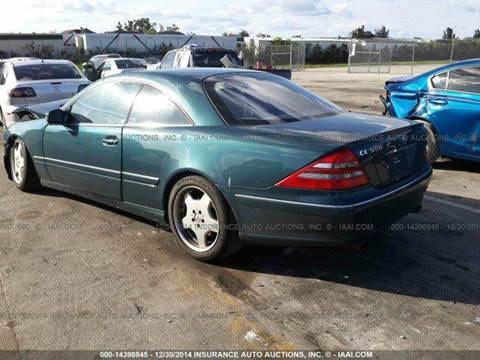 2001 Mercedes-Benz CL-Class for sale in Fort Lauderdale, FL