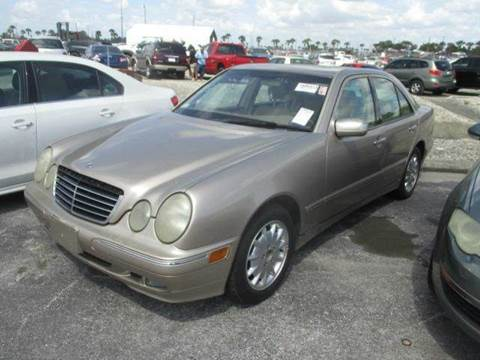 2001 Mercedes-Benz E-Class for sale at AUTO & GENERAL INC in Fort Lauderdale FL