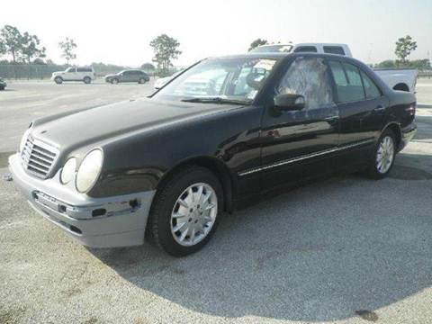 2000 Mercedes-Benz E-Class for sale at AUTO & GENERAL INC in Fort Lauderdale FL