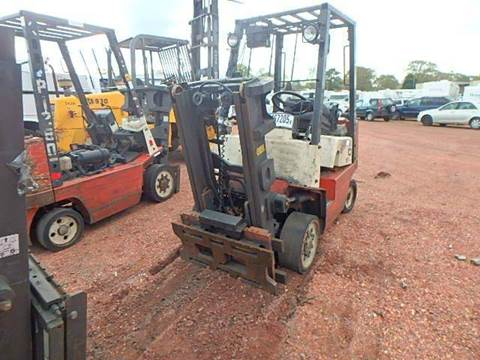 2002 Nissan FORKLIFT for sale at AUTO & GENERAL INC in Fort Lauderdale FL
