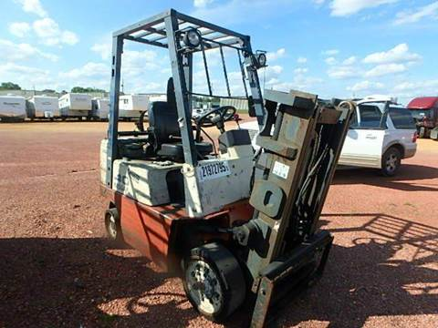 2000 Nissan FORKLIFT for sale at AUTO & GENERAL INC in Fort Lauderdale FL