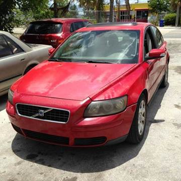 2007 Volvo S40 for sale at AUTO & GENERAL INC in Fort Lauderdale FL