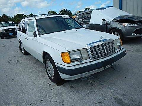 1990 Mercedes-Benz 300-Class for sale at AUTO & GENERAL INC in Fort Lauderdale FL