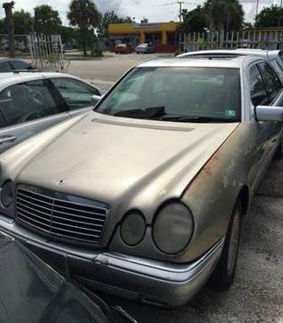 1998 Mercedes-Benz E-Class for sale at AUTO & GENERAL INC in Fort Lauderdale FL