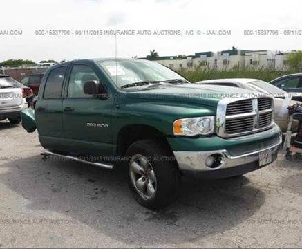 2003 Dodge Ram Pickup 1500 for sale at AUTO & GENERAL INC in Fort Lauderdale FL
