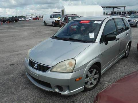 2006 Suzuki Aerio for sale at AUTO & GENERAL INC in Fort Lauderdale FL