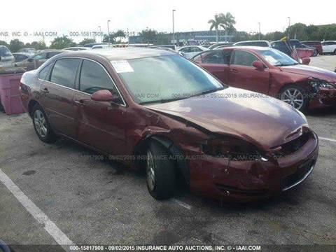 2006 Chevrolet Impala for sale at AUTO & GENERAL INC in Fort Lauderdale FL