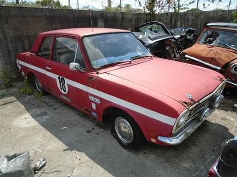 1969 Ford CORTINA for sale at AUTO & GENERAL INC in Fort Lauderdale FL