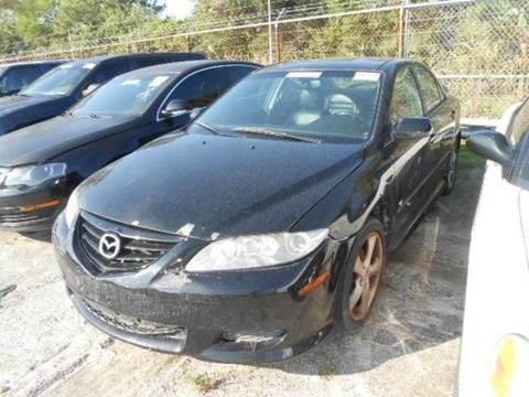2004 Mazda MAZDA6 for sale at AUTO & GENERAL INC in Fort Lauderdale FL