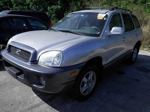 2002 Hyundai Santa Fe for sale at AUTO & GENERAL INC in Fort Lauderdale FL
