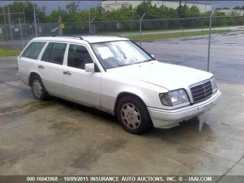 1994 Mercedes-Benz E-Class for sale at AUTO & GENERAL INC in Fort Lauderdale FL
