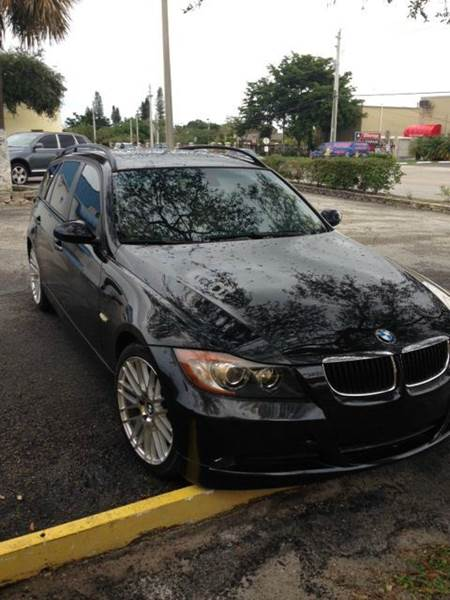 2007 BMW 3 Series for sale at AUTO & GENERAL INC in Fort Lauderdale FL