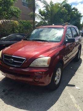 2006 Kia Sorento for sale at AUTO & GENERAL INC in Fort Lauderdale FL