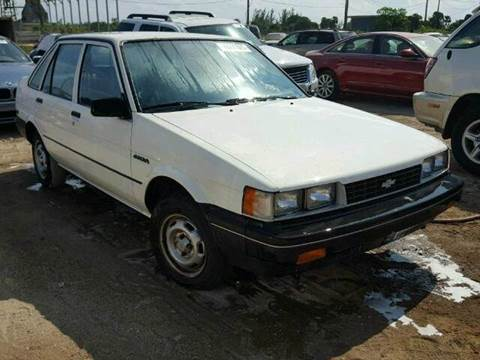 1987 Chevrolet Nova for sale at AUTO & GENERAL INC in Fort Lauderdale FL