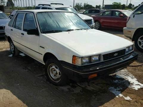1987 Chevrolet Nova for sale in Fort Lauderdale, FL