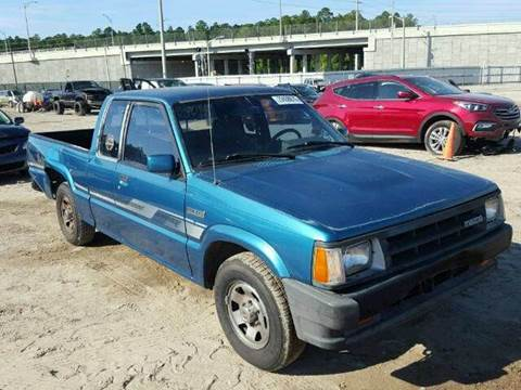 1993 Mazda B-Series Pickup for sale at AUTO & GENERAL INC in Fort Lauderdale FL
