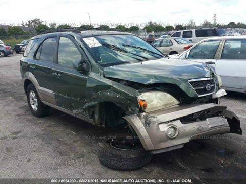 2004 Kia Sorento for sale at AUTO & GENERAL INC in Fort Lauderdale FL