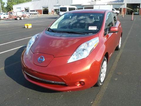 2015 Nissan LEAF for sale at AUTO & GENERAL INC in Fort Lauderdale FL