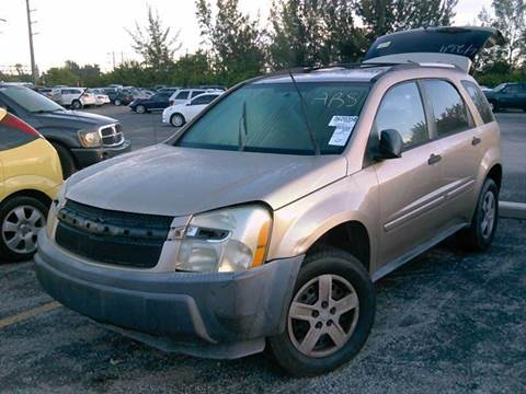 2005 Chevrolet Equinox for sale at AUTO & GENERAL INC in Fort Lauderdale FL