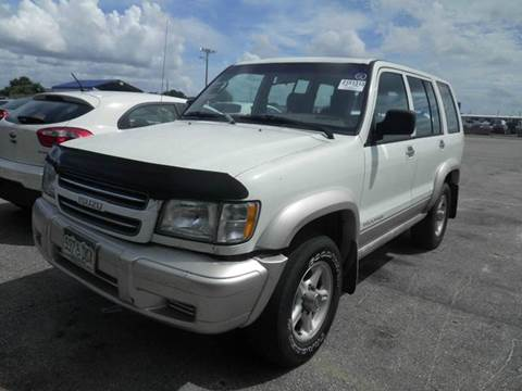2000 Isuzu Trooper for sale at AUTO & GENERAL INC in Fort Lauderdale FL