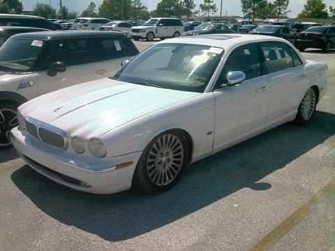 2006 Jaguar XJ-Series for sale at AUTO & GENERAL INC in Fort Lauderdale FL