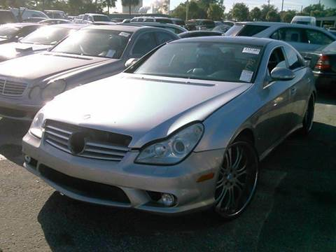 2006 Mercedes-Benz CLS for sale at AUTO & GENERAL INC in Fort Lauderdale FL