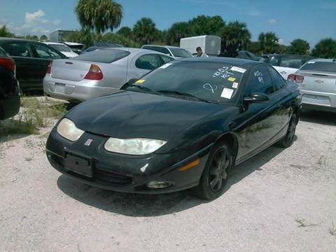 2001 Saturn S-Series for sale at AUTO & GENERAL INC in Fort Lauderdale FL