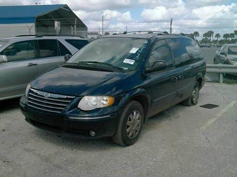 2005 Chrysler Town and Country for sale at AUTO & GENERAL INC in Fort Lauderdale FL