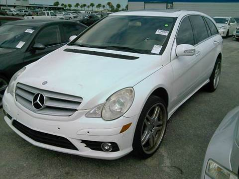 2008 Mercedes-Benz R-Class for sale at AUTO & GENERAL INC in Fort Lauderdale FL