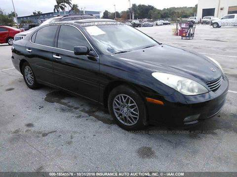2004 Lexus ES 330 for sale at AUTO & GENERAL INC in Fort Lauderdale FL