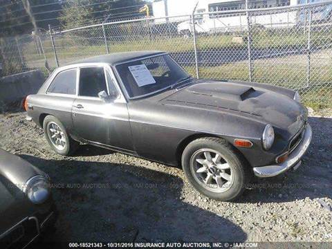 1974 MG Midget for sale at AUTO & GENERAL INC in Fort Lauderdale FL