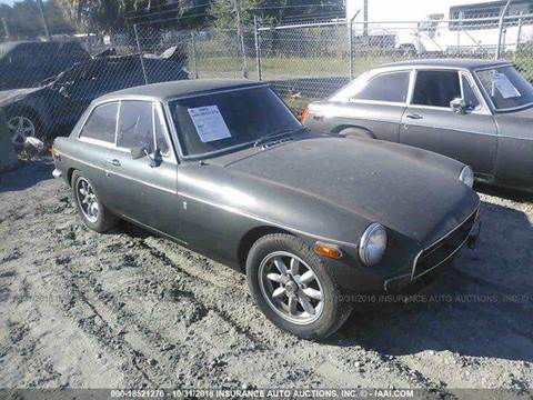 1972 MG Midget for sale at AUTO & GENERAL INC in Fort Lauderdale FL