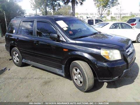 2007 Honda Pilot for sale at AUTO & GENERAL INC in Fort Lauderdale FL